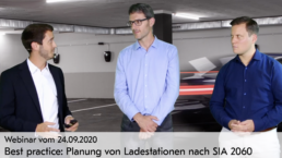 Webinar Video Best practice: Planung von Ladestationen nach SIA 2060